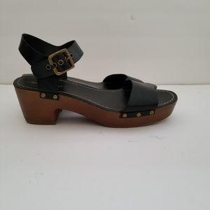 American Eagle Black Strap Sandal